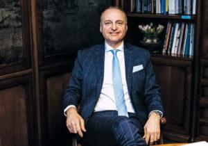 Фабио Масоло – владелец итальянского бренда Giorgio Collection
